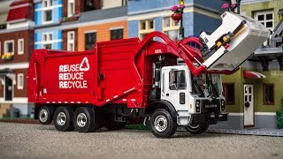 First Gear Mack TerraPro Heil Freedom Front Load Garbage Truck