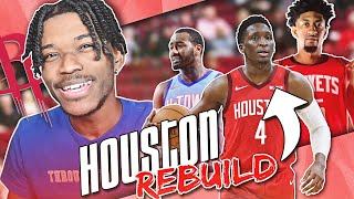REBUILDING THE HOUSTON ROCKETS AFTER JAMES HARDEN TRADE IN NBA 2K21 NEXT-GEN