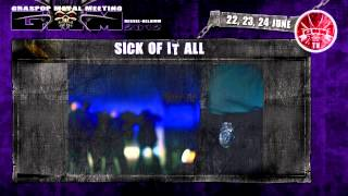 Sick Of It All - Death Or Jail (Live@Graspop Metal Meeting 2012)