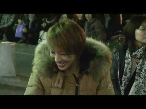 雪組「ロミオとジュリエット」東京公演の音月桂さんの出待ち映像です.