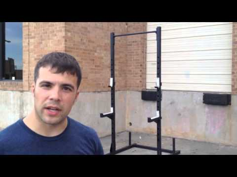 Video Review And Intro Onefitwonder Squat Rack Plus Pullup Bar Youtube
