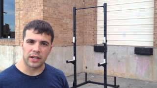Video Review and Intro - OneFitWonder Squat Rack Plus Pullup Bar(Peter from FringeSport reviews and demos the OneFitWonder squat rack plus pull-up bar. Find it here: ..., 2013-06-13T21:37:24.000Z)
