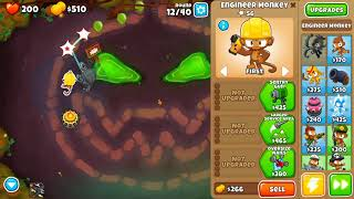 Bloons TD 6 - Easy, Standard, Carved, (NO MONKEY KNOWLEDGE)