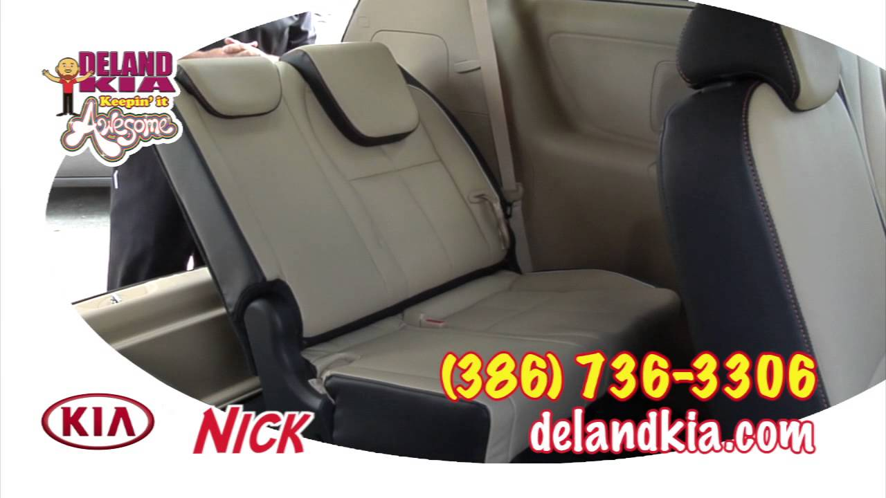 2016 kia sedona seating features deland kia daytona fl part 2 youtube. Black Bedroom Furniture Sets. Home Design Ideas