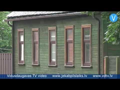 Jēkabpiliešus aicina saglabāt vēsturisko ēku izskatu