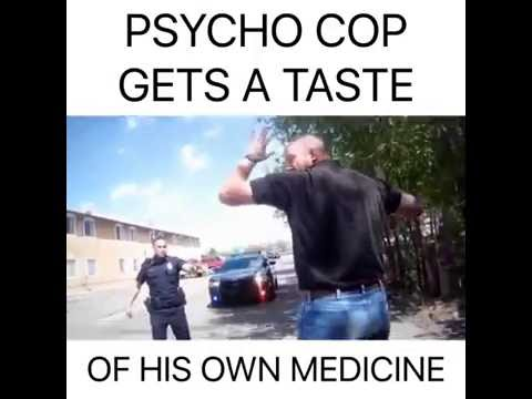 Good Cops Arrest Bad Cop Abusing His Power