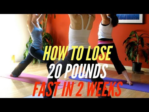 How to Lose 20 Pounds Fast in 2 Weeks (4 Easy Steps)