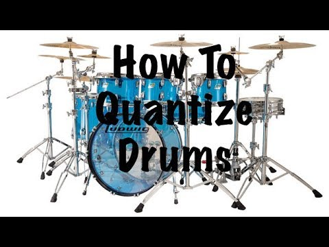 How To Quantize Drums (Digital Performer)