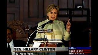 Hillary Clinton Preaching Sermon Entitled