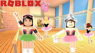 🎀ME & AMAYA BALLERINA DANCE ROUTINE AT OUR NEW SCHOOL!! -Roblox royal dance