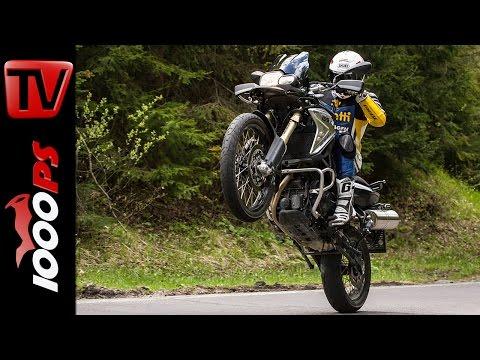 BMW F 800 GS Test 2016 | Motorrad Quartett | Action, Design, Details