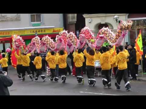 Chinese New Year 2014 - Dragon dance