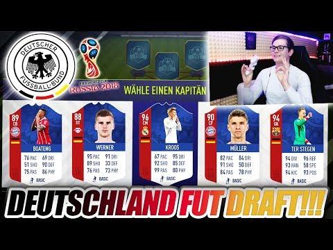 FIFA 18: WORLD CUP DEUTSCHLAND FUT DRAFT CHALLENGE!! 🔥🔥 Ultimate Team - WM 2018