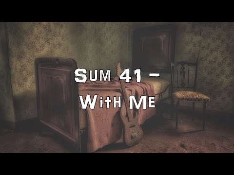 Sum 41 - With Me [Acoustic Cover.Lyrics.Karaoke]