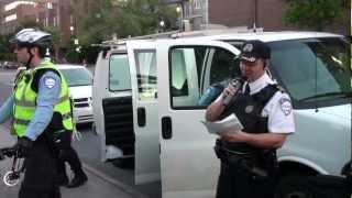 À voir ! - Désobéissance civile à Montréal le 13 Juin 2012, manifestation déclaré illégale
