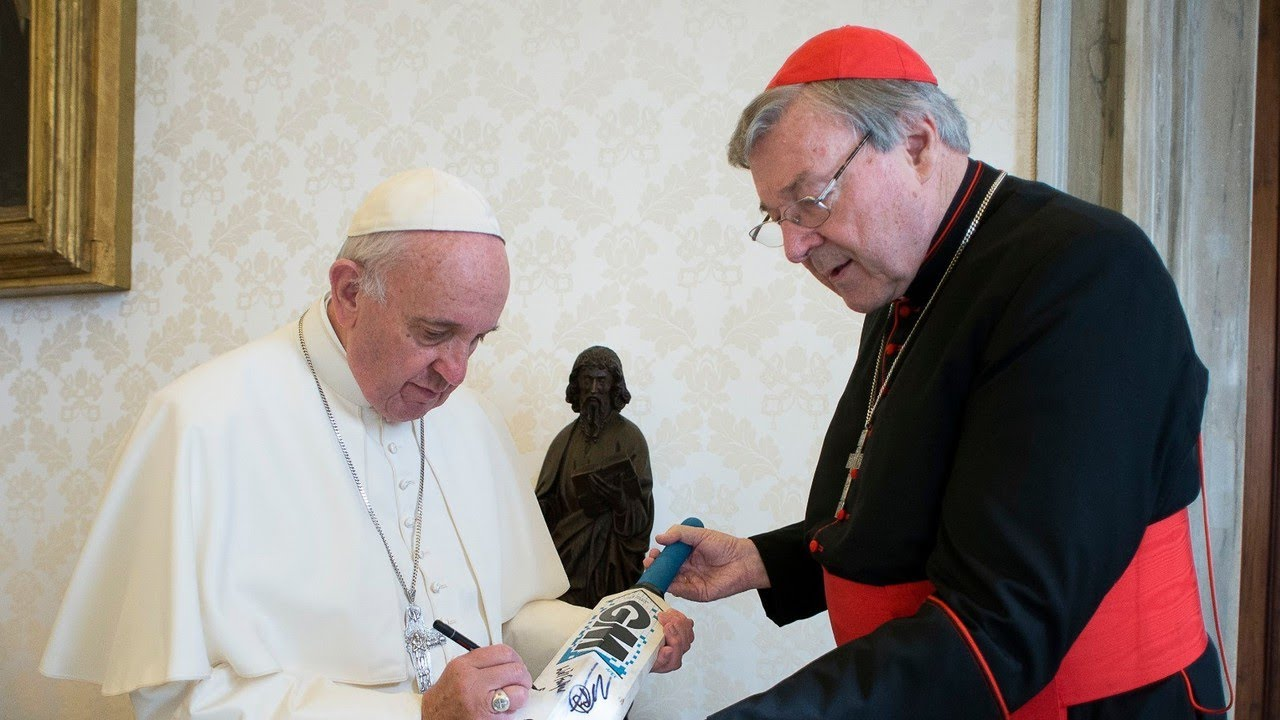 Pope Francis 'respects my honesty': Cardinal Pell