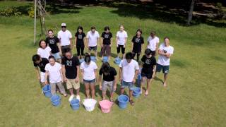 ALS Ice Bucket Challenge for END ALS in Aoyama By MWG.