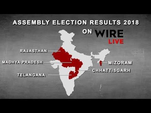 LIVE: Assembly Election Results 2018 | Rajasthan | Chhattisgarh | MP | Mizoram | Telangana