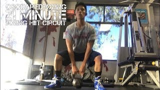 FAST and EFFECTIVE Boxing/ MMA Training Circuit!