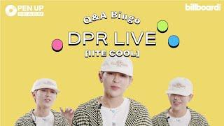 음악에 진심인 DPR LIVE와의 Q&A 빙고! | MBTI, 빈지노&화사, 사랑 얘기? | 'OPEN UP THE ALBUM' with 디피알 라이브