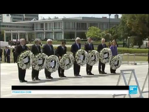 Japan: John Kerry in historic visit to Hiroshima nuclear attack site