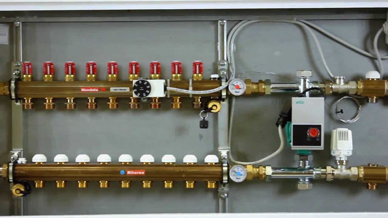 Temperatura Caldaia Impianto A Pavimento riscaldamento a pavimento: qual'è la regolazione migliore?
