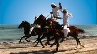 Djerba - Die stolzen Reiter am Strand - Hotel El Mouradi Djerba Menzel