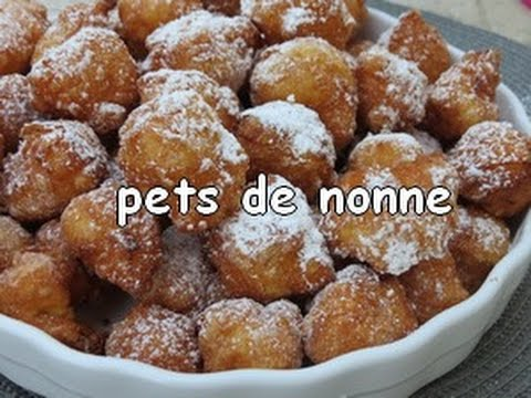 Beignets de carnaval  .. les Pets de nonne