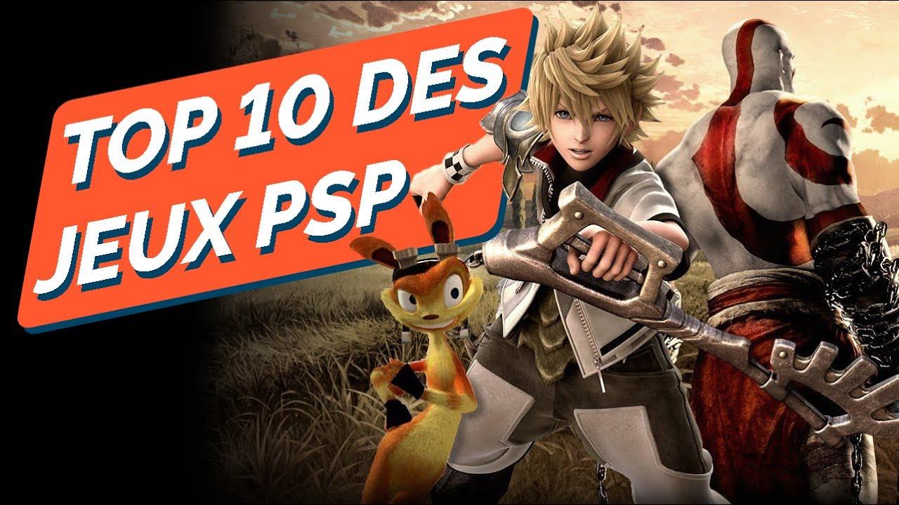 Download TOP 10 des meilleurs jeux de la PSP