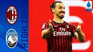 Atalanta 1-1 Milan | Zapata riacciuffa il Milan | Serie A TIM