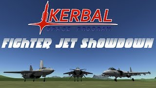 Fighter Jet Showdown 4 (Part 3) - Total Domination - Kerbal Space Program