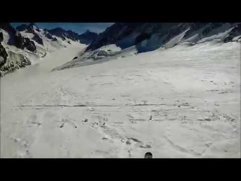 Skiing Chamonix - Grand Montets 3300m