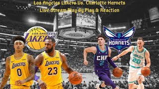 The nba champion, los angeles lakers (27-13), take on charlotte hornets (21-20) in what should be a great matchup. ***disclaimer; due to copyright la...