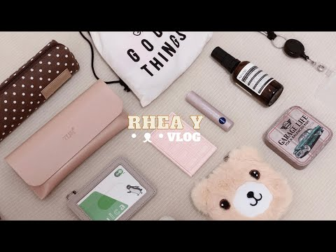 What's In My Work Bag, Salary Woman In Japan