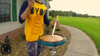 Get Your Freak On Cypher | Feat. Garret Kimmel | Xymox Percussion Reserve Snare Drum Pad