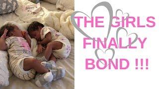 THE GIRLS FINALLY BOND !!! + JEREMY'S BABY PIC !