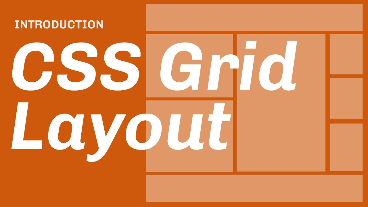 CSS Grid Layout // Introduction - YouTube