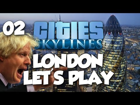 Cities: Skylines London Let's Play - CAMDEN TOWN INNIT M8! Part 2