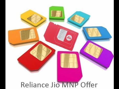 Reliance Jio MNP offer-Port to JIO network from any network