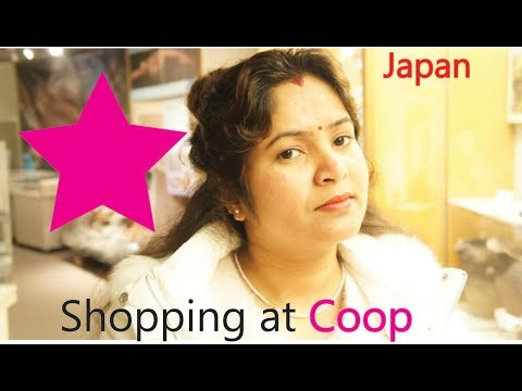 Grocery Shopping at Coop, Japan