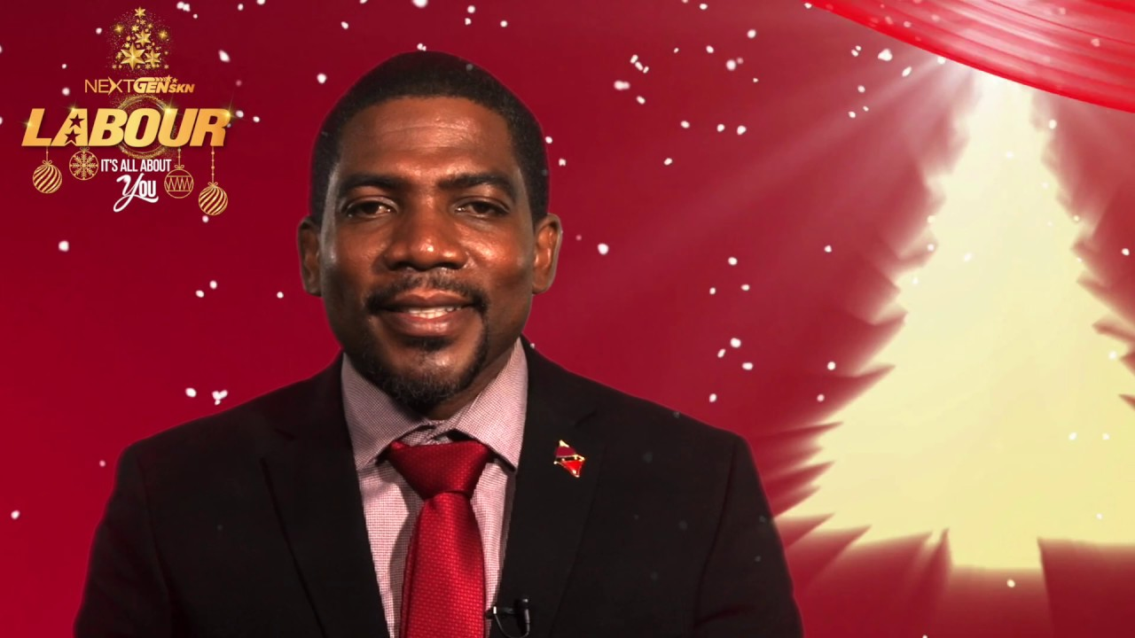 2019 Christmas Message from Dr. Terrance Drew- SKNLP Candidate for Constituency No. 8