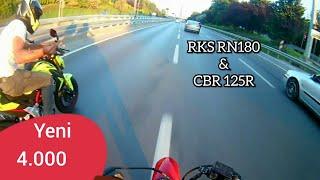 Ölüm Yarışı #Vol1 Rks RN180 & CBR 125R