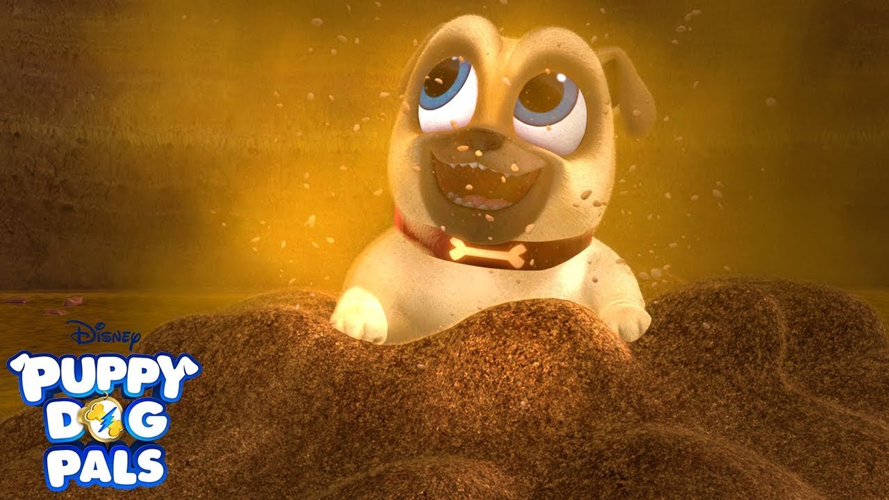 Dig Music Video Puppy Dog Pals Disney Junior Youtube