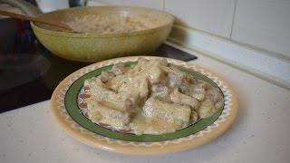 Бефстроганов из говядины со сметаной / Как вкусно приготовить говядину