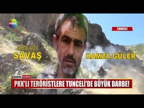 PKK'lı teröristlere Tunceli'de büyük darbe!