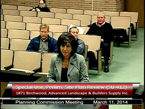 Planning Commission Meeting March 22, 2014