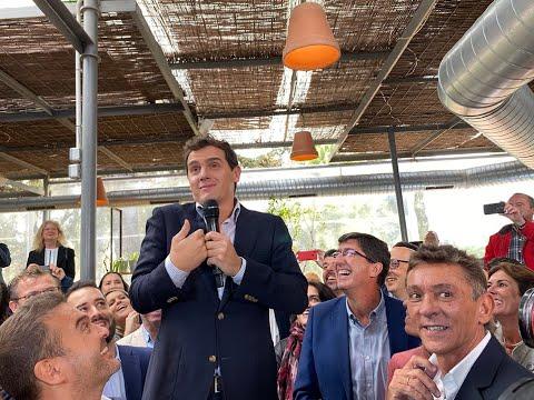 Albert Rivera, candidato de Ciudadanos a la presidencia de gobierno