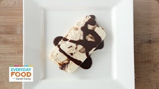 Peanut Butter And Chocolate Semifreddo - Everyday Food With Sarah Carey