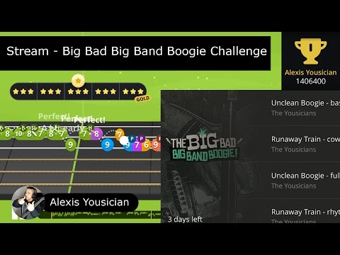 """Alexis Yousician - """"The Big Bad Big Band Boogie"""" Live Stream"""