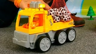 Мультфильм про машинки: Робокар Поли и грузовичок Дампу thumbnail